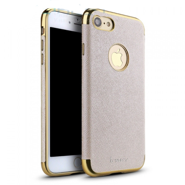 Чехол Ipaky Slim Housing Case для Apple iPhone 7 - Gold