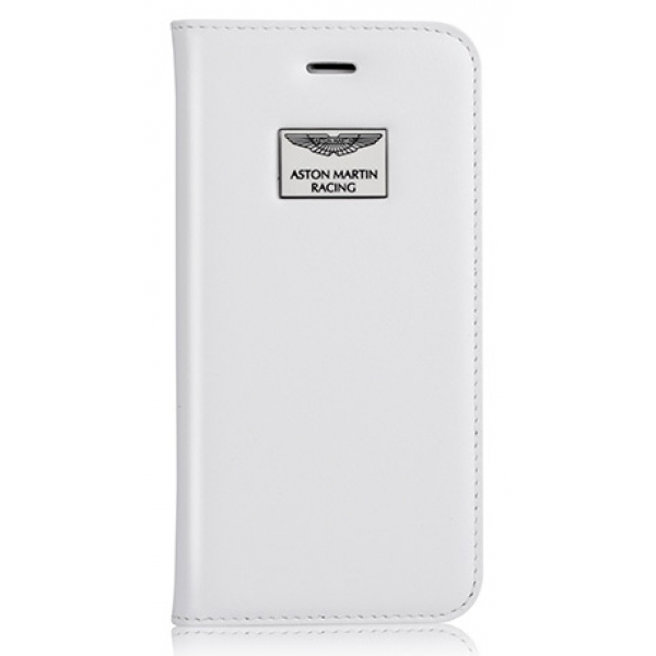 Aston Martin iPhone 6/6S Folio Case Luxury White
