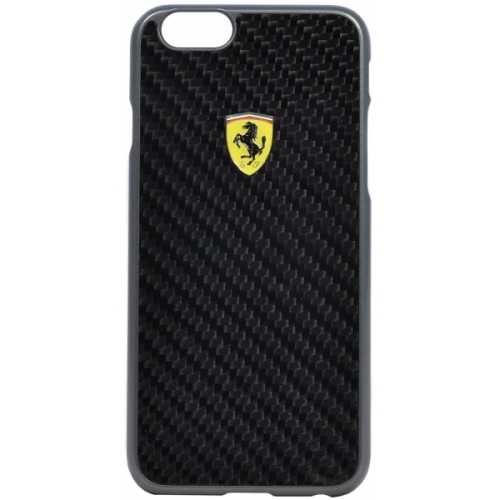 Ferrari Scuderia Hard Case Carbon Black iPhone 6/6S