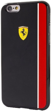 Ferrari Scuderia Collection Hard Case Glossy Black And Red iPhone 6/6S