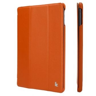 JISONCASE Ultra-Thin Smart Case for iPad Air Orange (JS-ID5-09T90)
