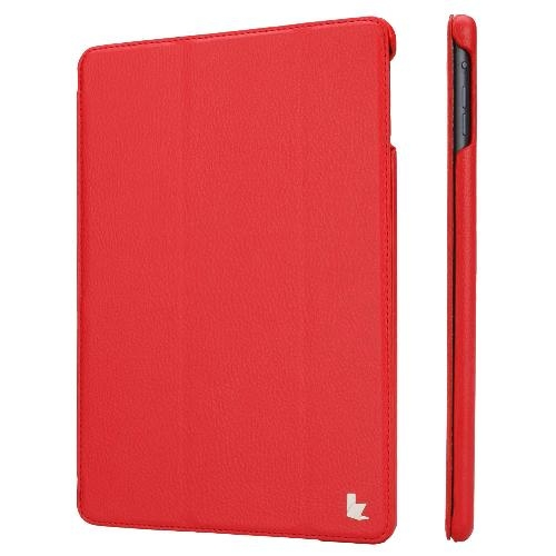 JISONCASE Ultra-Thin Smart Case for iPad Air Red (JS-ID5-09T30)