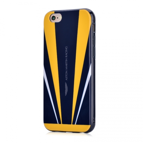 Aston Martin Vanquish back case for iPhone 6/6s Yellow/Blue