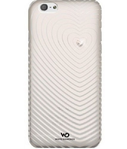 Чехол White Diamonds Heartbeat White for iPhone 6/6S