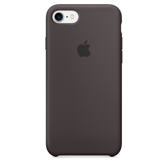 Apple Silicone Case for iPhone 8 - Black (Hi-Copy)