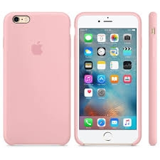 Apple Silicone Case for iPhone 6/6s - Light Pink (Hi-Copy)