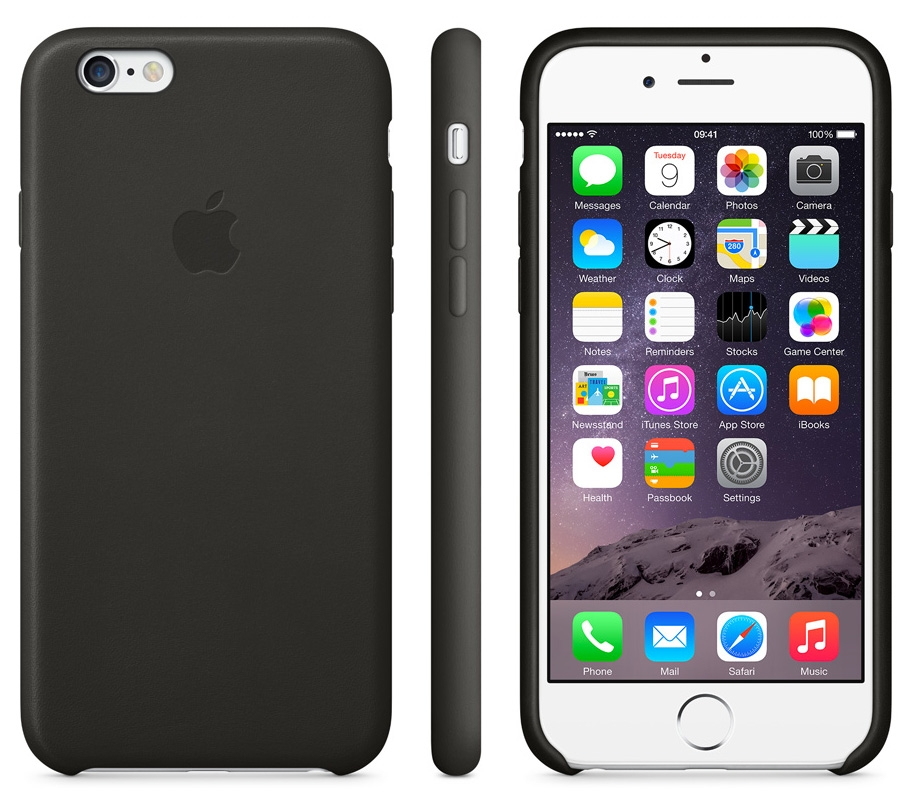 Apple Silicone Case for iPhone SE/5S/5 - Black (Hi-Copy)