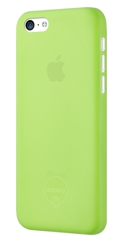 Ozaki O!coat 0.3 Jelly Green for iPhone 5/5S (OC533GN)