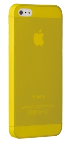 Ozaki O!coat 0.3 Jelly Yellow for iPhone 5/5S (OC533YL)