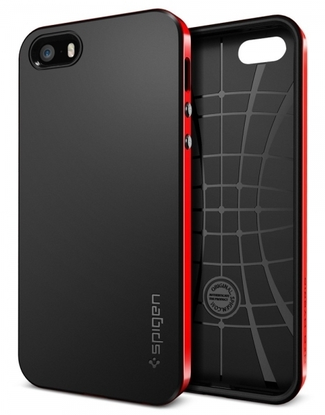 SGP Case Neo Hybrid Dante Red for iPhone 5/5S (SGP10363)