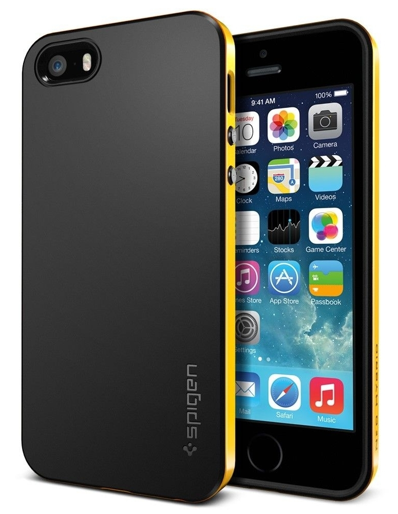 SGP Case Neo Hybrid Reventon Yellow for iPhone 5/5S (SGP10364)