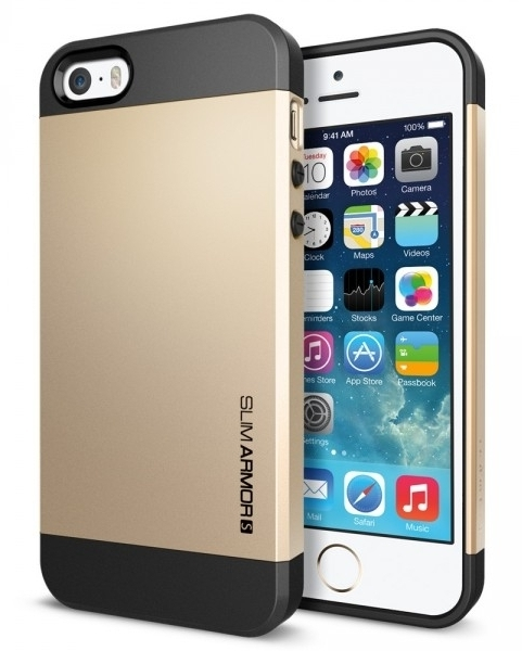 SGP Case Slim Armor S Champagne Gold for iPhone 5/5S (SGP10604)