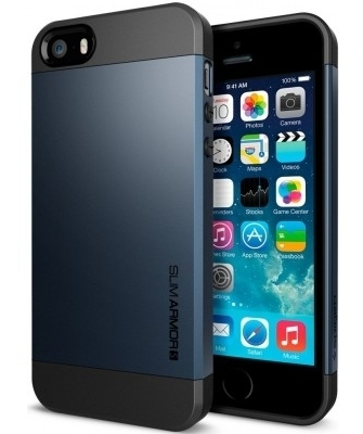 SGP Case Slim Armor S Metal Slate for iPhone 5/5S (SGP10365)