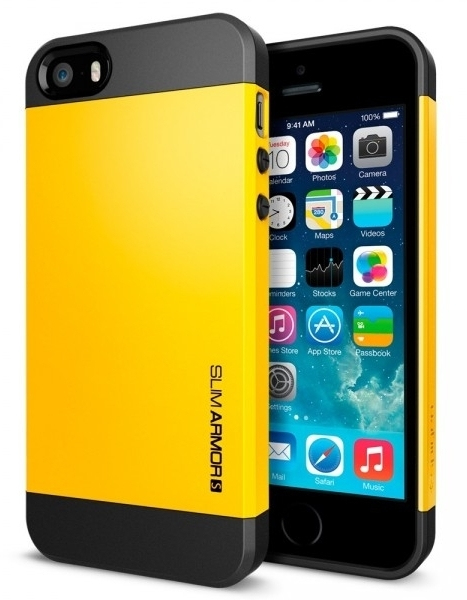 SGP Case Slim Armor S Reventon Yellow for iPhone 5/5S (SGP10368)
