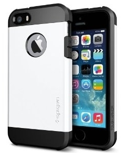 SGP Case Tough Armor Smooth White for iPhone 5/5S (SGP10493)