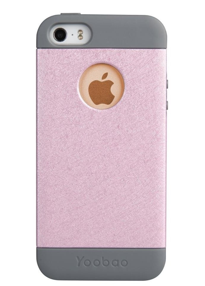 Yoobao Amazing Protecting case для iPhone 5/5S - pink