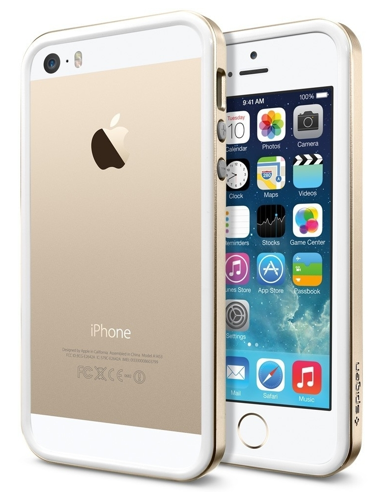 SGP Neo Hybrid EX Slim Metal for iPhone 5/5S Champagne Gold (SGP10605)