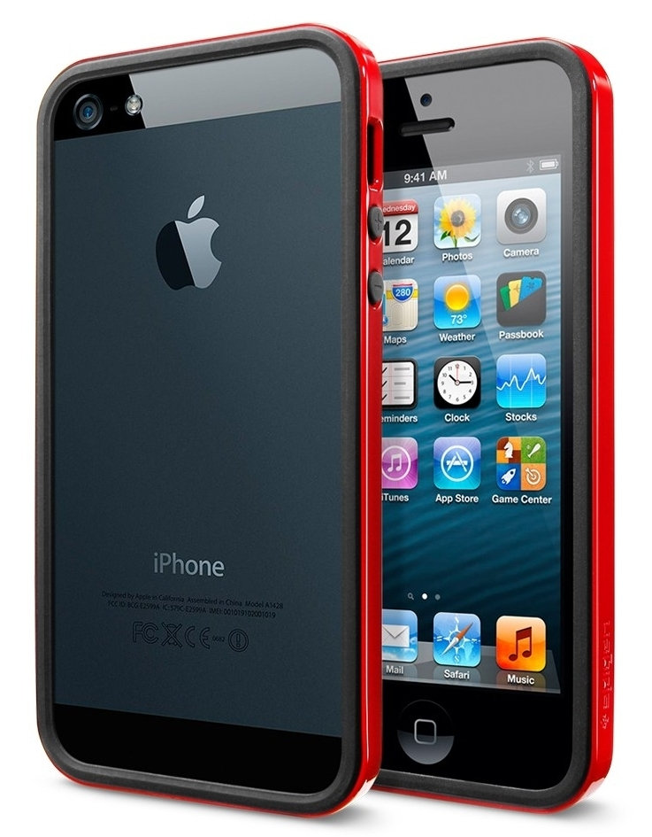 SGP Neo Hybrid EX Slim Vivid for iPhone 5/5S Dante Red (SGP10026)