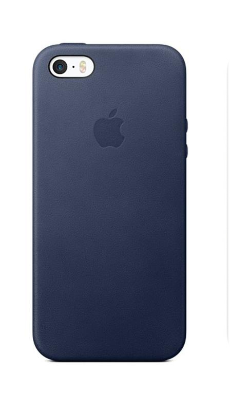 APPLE Case for iPhone SE/5/5S Dark Blue (HI-COPY)