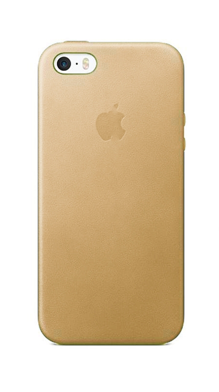 APPLE Case for iPhone SE/5/5S Gold (HI-COPY)