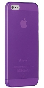 Ozaki O!coat 0.3 Jelly Purple for iPhone 5/5s