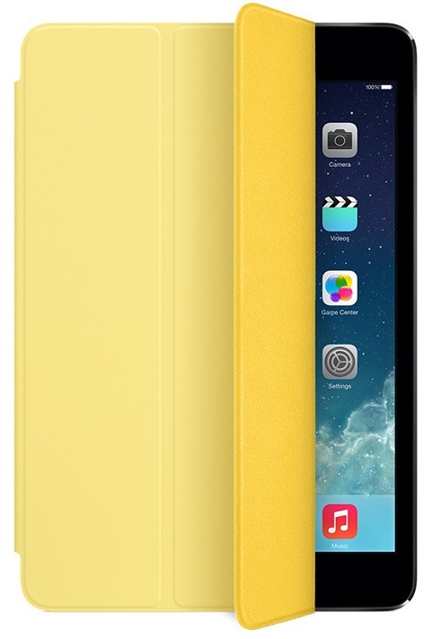 Apple iPad mini Smart Cover Polyurethane Yellow for iPad mini Retina/iPad mini (MF063)
