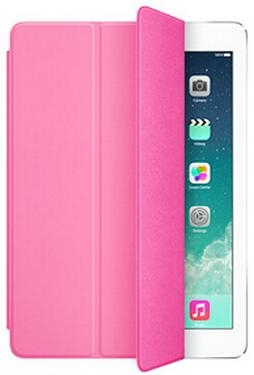 Apple Smart Case Polyurethane для iPad Air 2 - hot pink