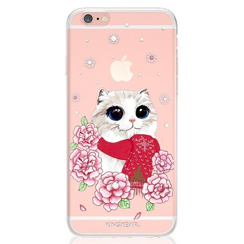 Kingxbar Lovely Pet Series for iPhone 6/6S Cat