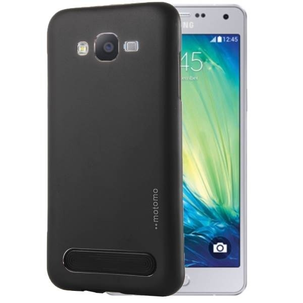 Чехол MOTOMO Armor Metal + TPU Protective Case for Samsung Galaxy A7 (А700) - Black