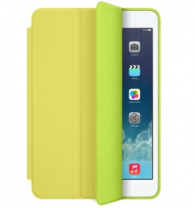 Apple Smart Case Polyurethane для iPad Mini/ Mini 2/ Mini 3 - light green