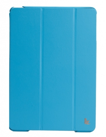 JISONCASE Executive Smart Case for iPad mini/mini 2 Blue (JS-IDM-01H40)