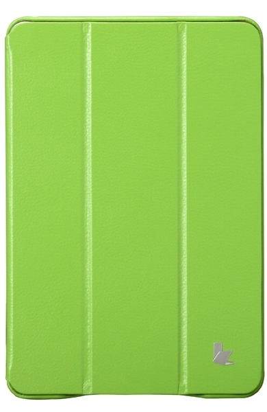 JISONCASE Executive Smart Case for iPad mini/mini 2 Green (JS-IDM-01H70)
