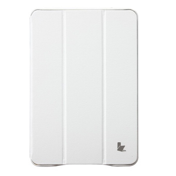 JISONCASE Executive Smart Case for iPad mini/mini 2 White (JS-IDM-01H00)
