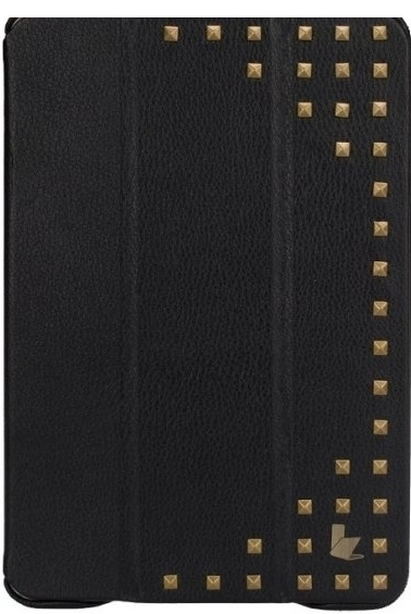JISONCASE Smart Case with Copper for iPad mini/mini 2 Black (JS-IDM-12H10)