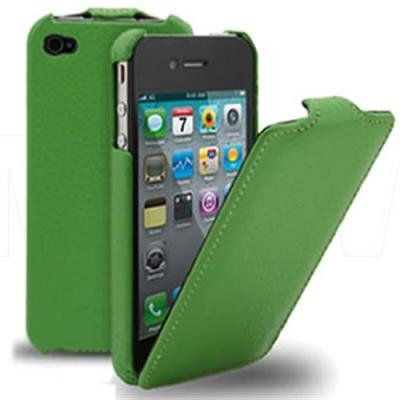 Чехол Melkco Jacka Type для iPhone 4/4s - green