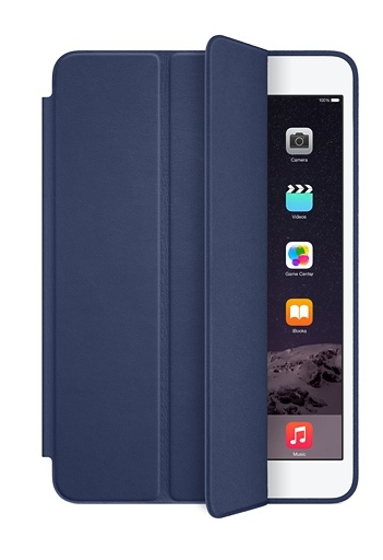 Apple Smart Case Polyurethane для iPad Mini/ Mini 2/ Mini 3 - dark blue