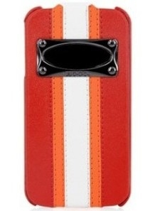 Чехол HOCO Marques Fashion Leather Case для iPhone 4/4S - красный