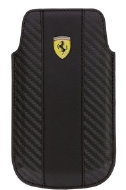 Чехол Ferrari Sleeve для iPhone 4/4s Challenge Black