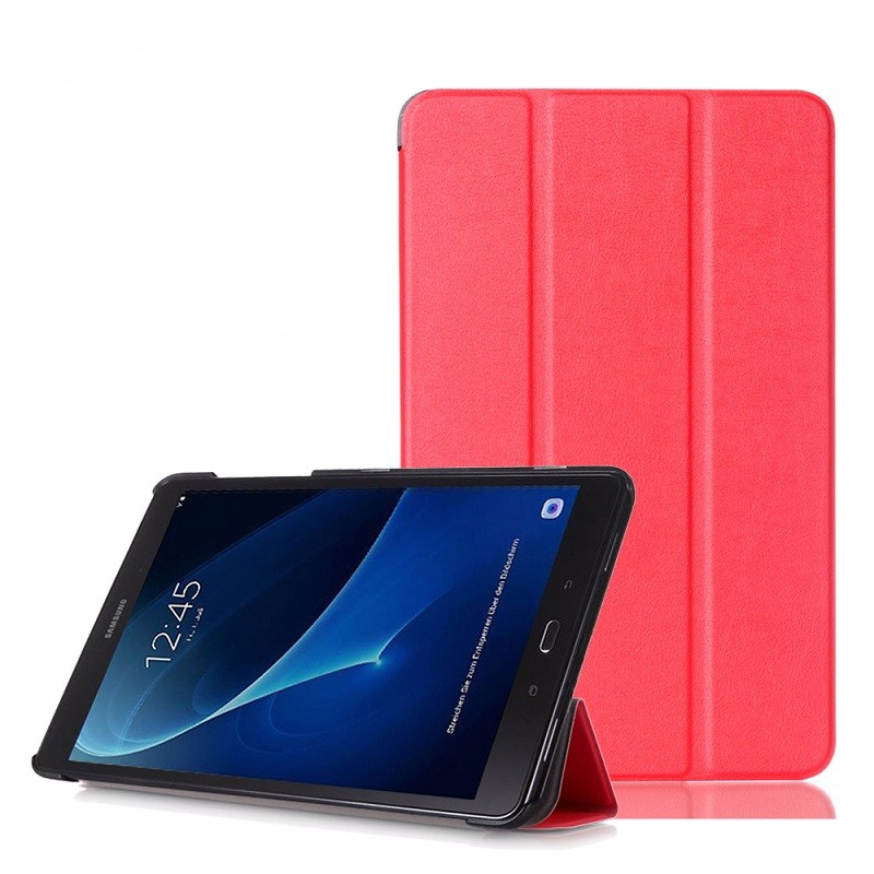 Smart Cover Leafon для Samsung Galaxy Tab E 9.6 T560 - Red