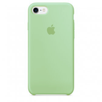 Apple Silicone Case for iPhone 7 - Green (Hi-Copy)