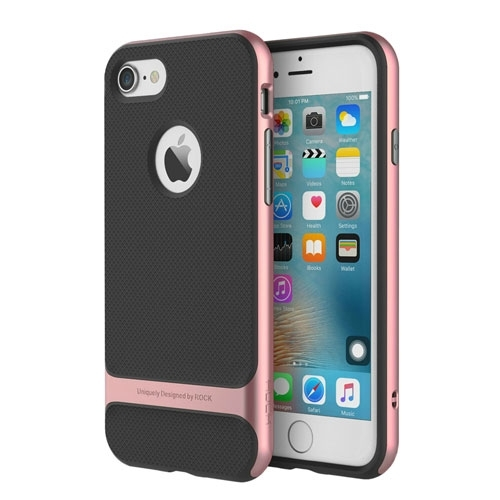 Чехол Rock Royce Series for iPhone 7 Plus - Rose Gold