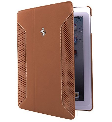 Чехол Ferrari F12 Collection Leather Folio Case for iPad Air - brown