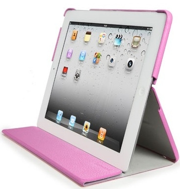 SGP Leather Case Leinwand Series Sherbet Pink for iPad 2