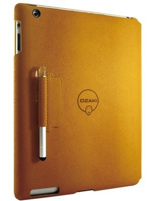 Чехол Ozaki Diverse colors of foldable case with stylus for iPad 2/ iPad 3, yellow