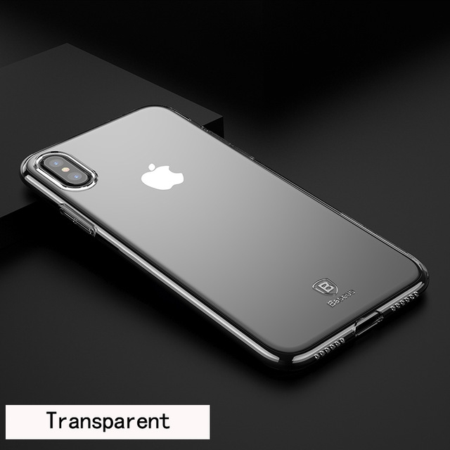 Baseus Simple Series Case Transparent for iPhone X