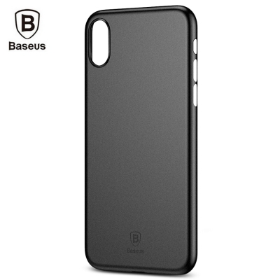 Baseus Wing Case Black for iPhone X