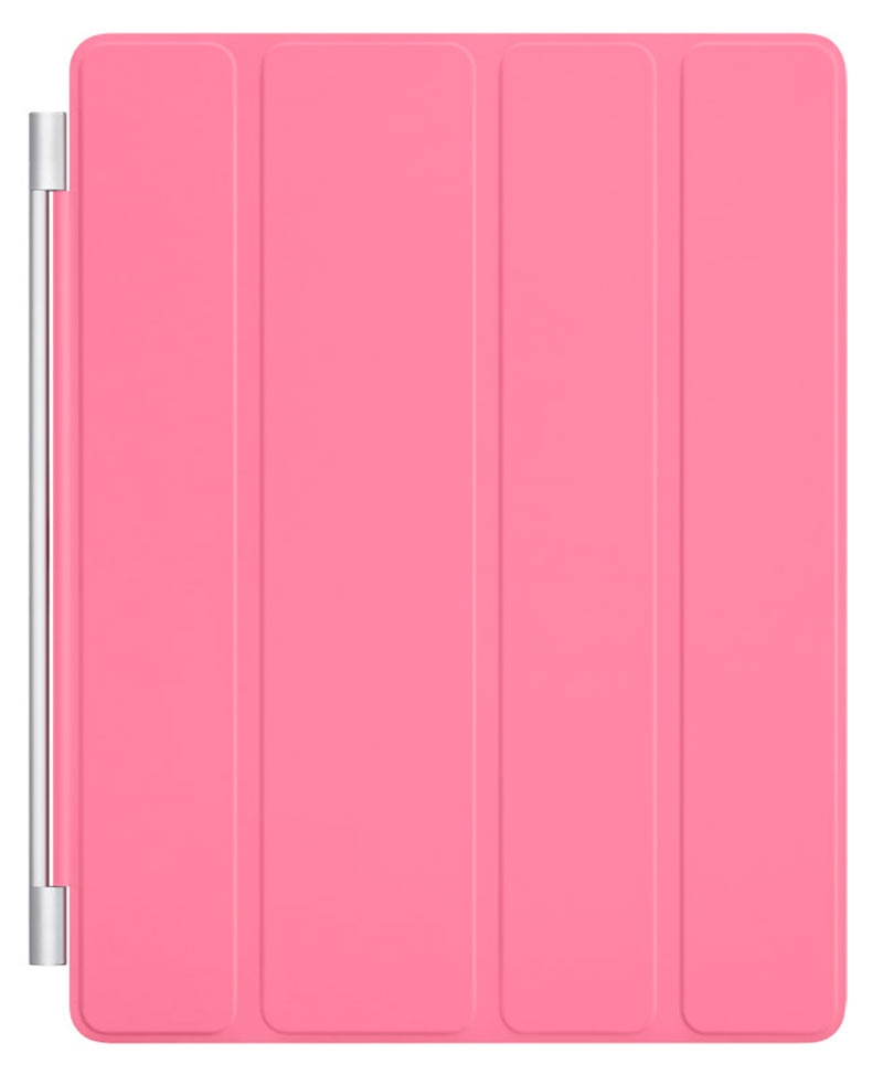 Smart Cover for Apple iPad 2 pink полиуритан