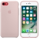 Apple Silicone Case for iPhone 7 - Light Pink (Hi-Copy)