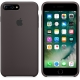 Apple Silicone Case for iPhone 7 Plus - Cocoa (Hi-Copy)