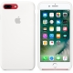 Apple Silicone Case for iPhone 7 Plus - White (Hi-Copy)